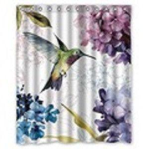 Hummingbird Shower Curtain In 2018
