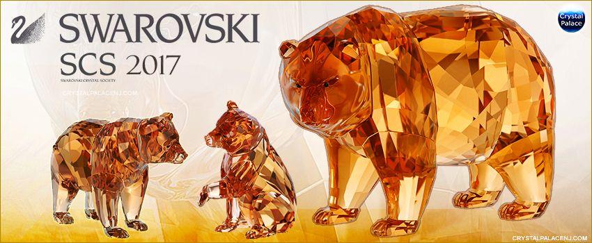 efae09fc4 Swarovski SCS Annual Editions 2017 Bear Arcadia and cubs | Swarovski ...