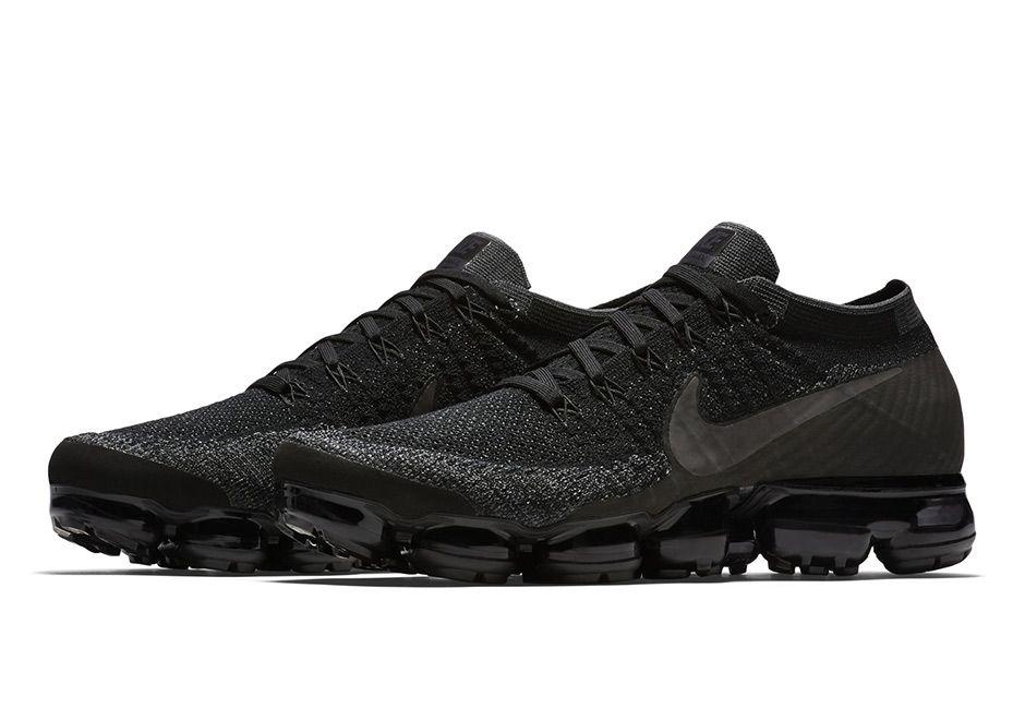 Nike VaporMax Triple Black Release Date Info | SneakerNews.com