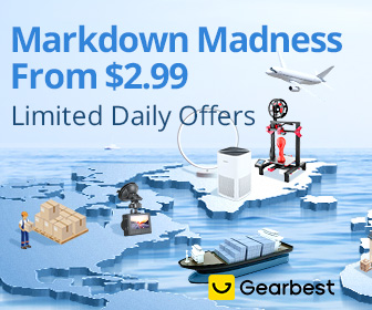 Gearbest Markdown Madness From 2.99 promotion Fitness