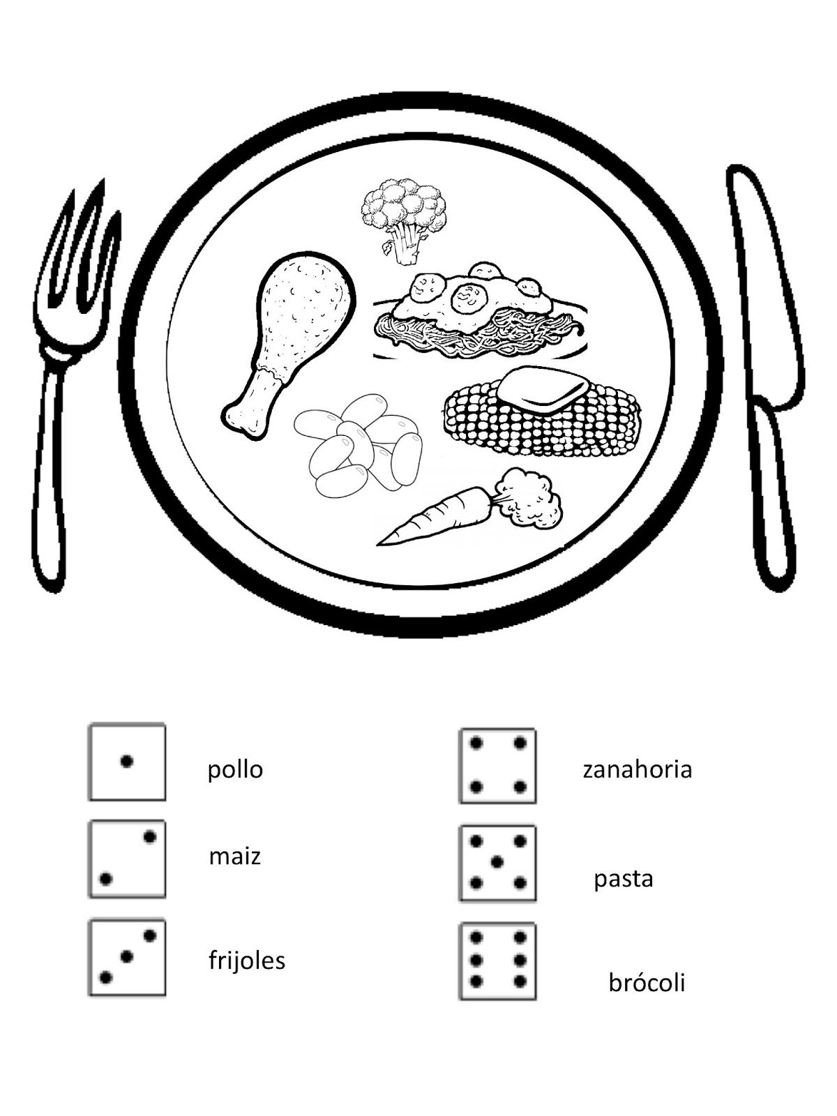 Spanish Simply Teaching Meals In Spanish Mmmm Delicioso