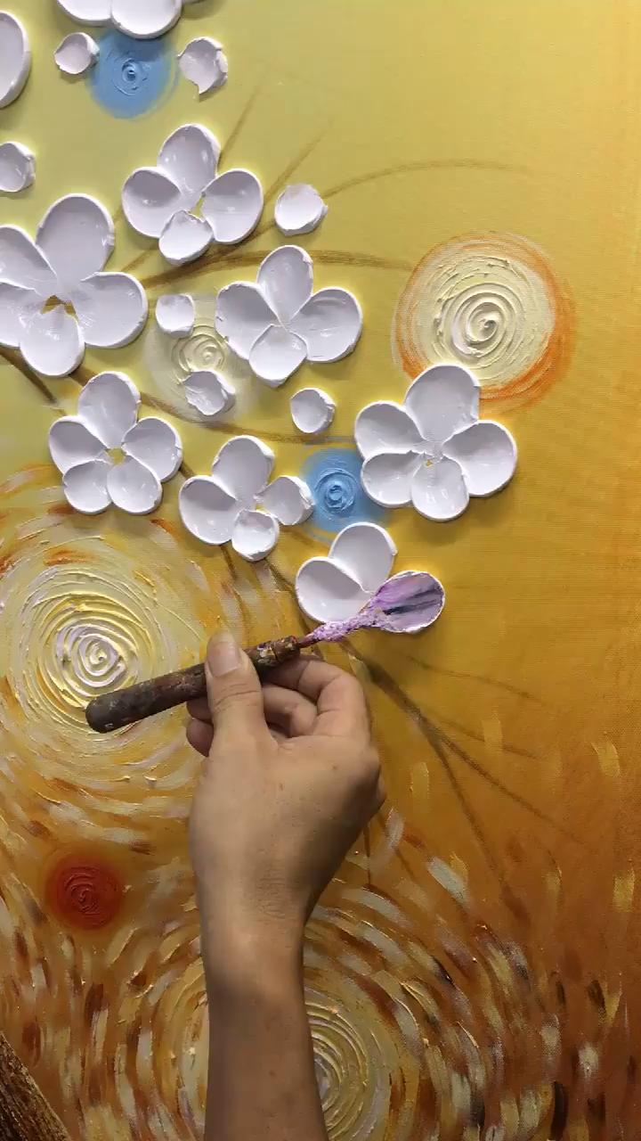 #Hand #Oil #painted #Painting 🖌Asdam Art 🖌ist einer der größten Online-S ...