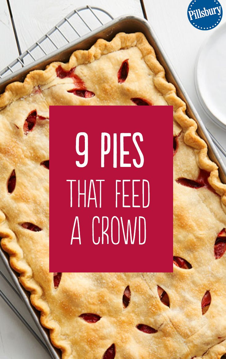 Slab Pies That Will Make You Wonder Why You Even Own a Pie Pan | Desserts, Dessert recipes ...