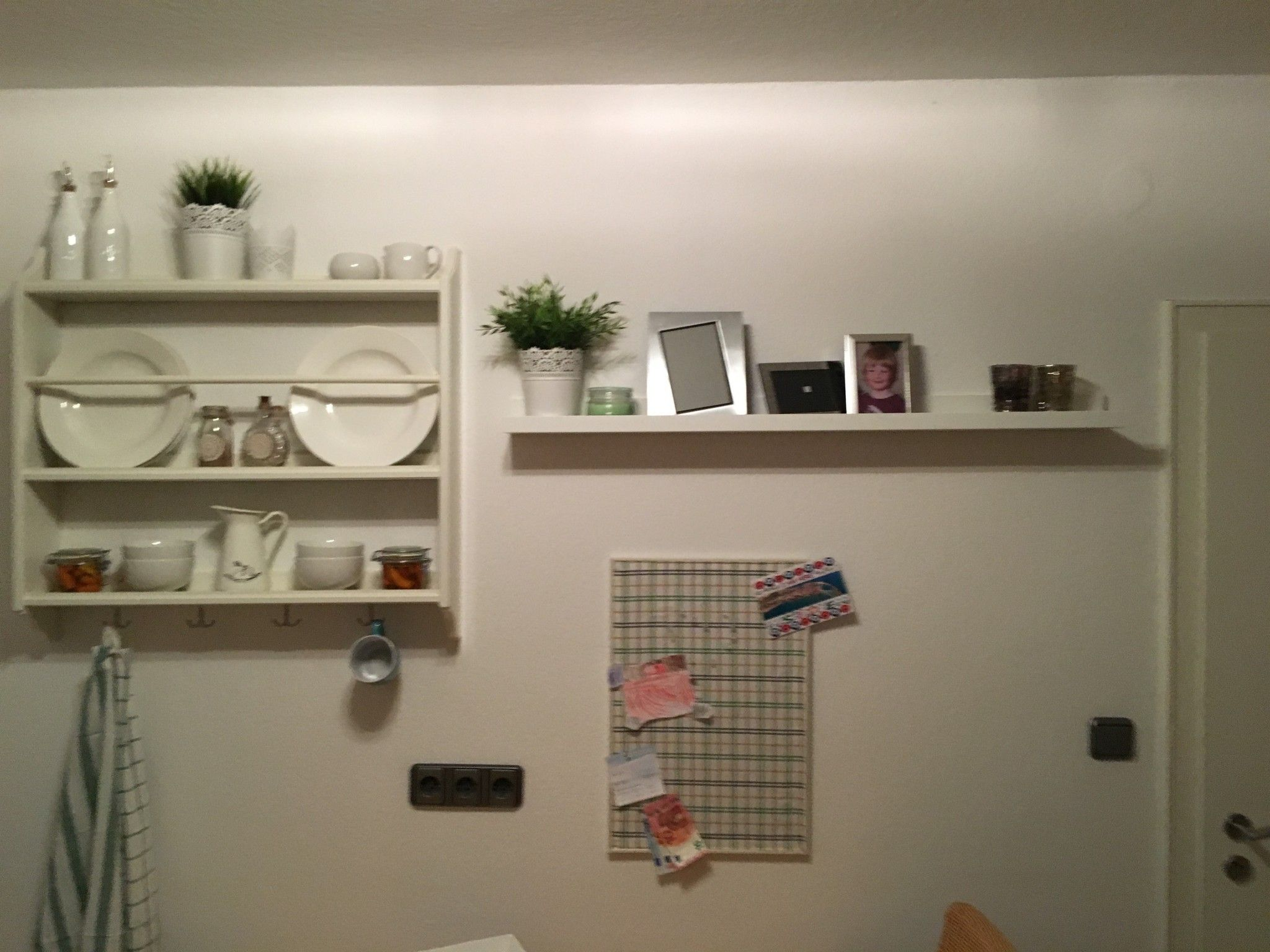 IKEA Pinnwand mit Stoff beziehen