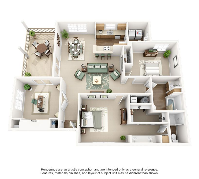 2 Zimmer Wohnungen Fur Miete Louisville Ky Dekoration Manificent Schlafzimmermobel My House Plans Sims House Design Sims House Plans