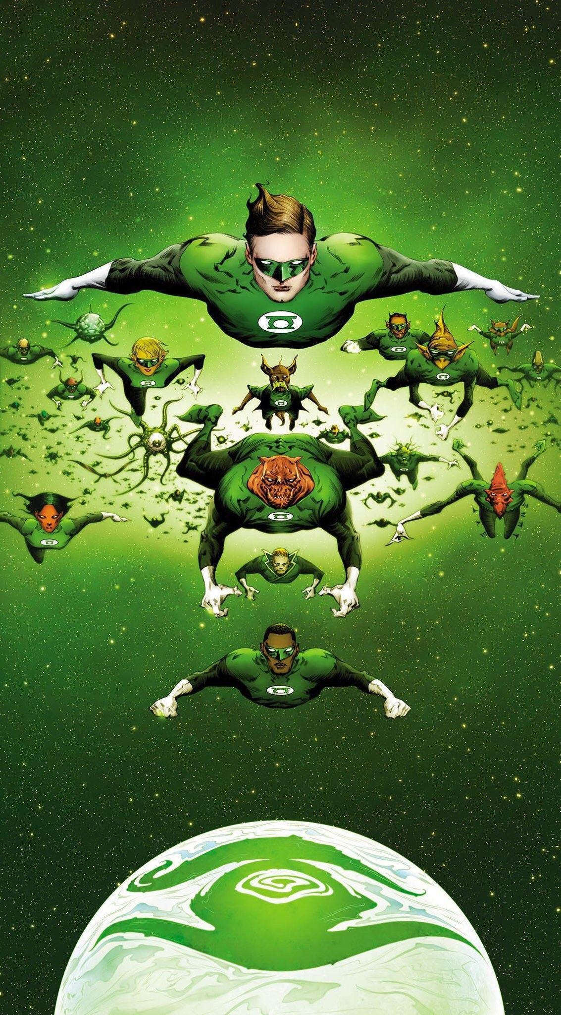 DC Comics GREEN LANTERNS #45 first printing cover A