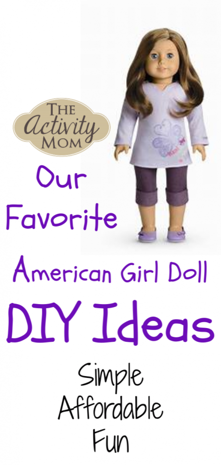 Our Favorite American Girl Doll DIY Ideas #americangirldollcrafts