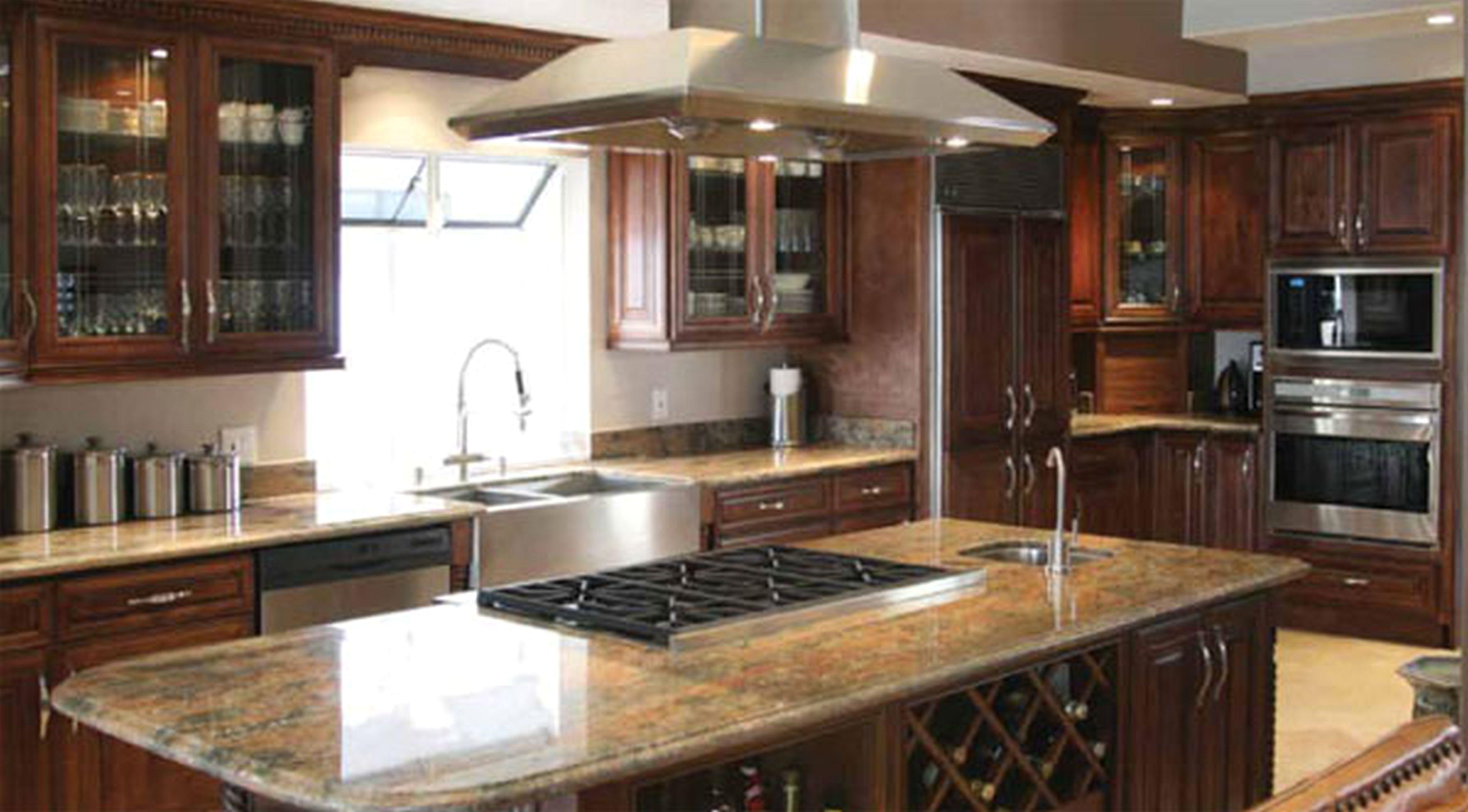 Best Kitchen Dark Cabinets Kitchen Island With Sink Light 400 x 300