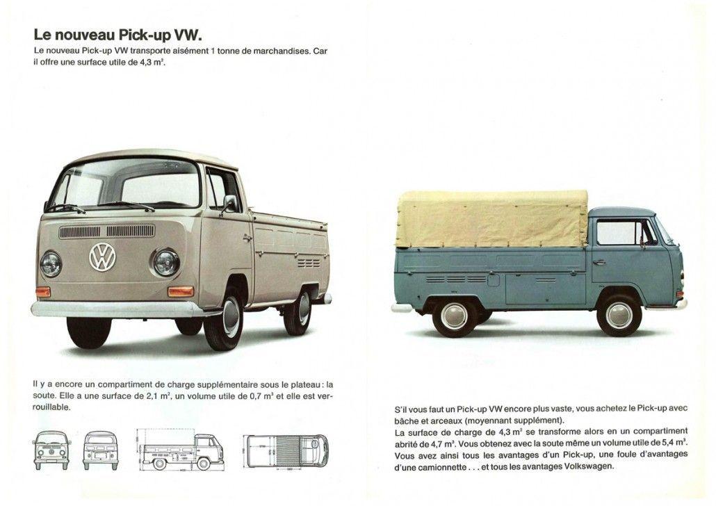Doc Vw Type 2 T2a Pick Up Vwbrasilia Vintage Vw Bus Classic Volkswagen Vintage Vw