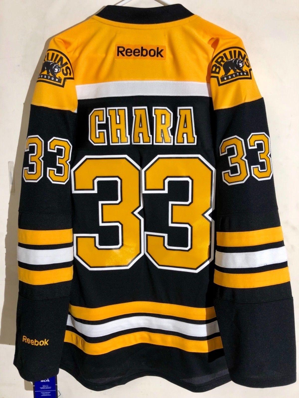 Details about Reebok Premier NHL Jersey Boston Bruins Zdeno Chara ... 28097ff33