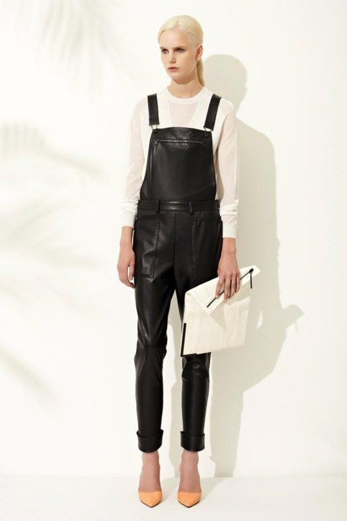 LEATHER OVERALLS    3.1 Phillip Lim - Resort 2013