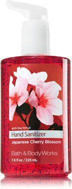 Bath Body Works Pocketbac Hand Gel Japanese Cherry Blossom