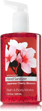 Japanese Cherry Blossom Sanitizing Hand Gel Soap Sanitizer