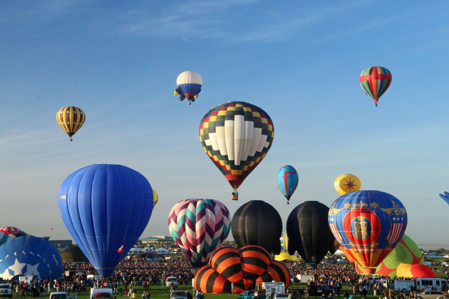 Hot Air Balloon Photography, photos, Mass Ascension