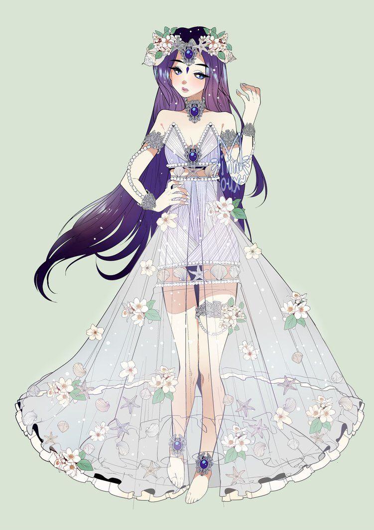 Anime Girl Fantasy Outfits : anime, fantasy, outfits, Tsubare, Minnoux.deviantart.com, @DeviantArt, Anime, Dress,, Clothes,, Outfits