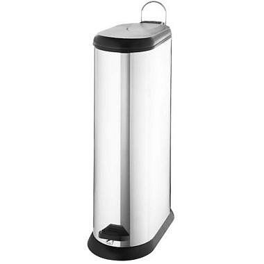 Lakeland Slimline Kitchen Waste Pedal Bin - Silver 20L - from ...