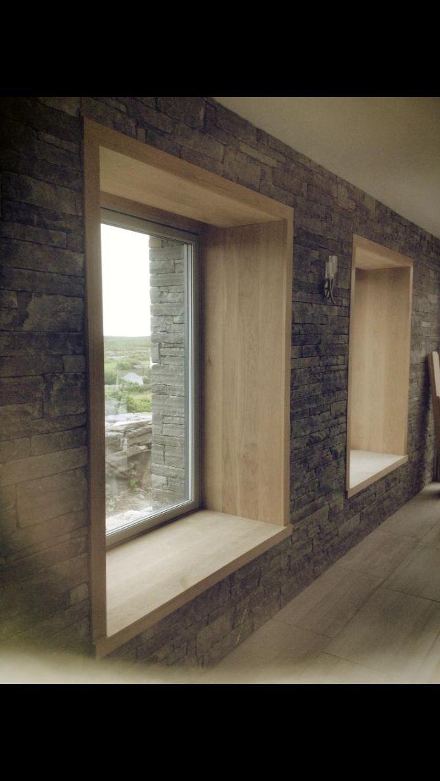 Lush oak windows :)