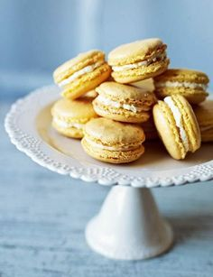Pineapple And Coconut Macaroons Recipe Macaron Flavors Coconut Macaroons Macaron Recipe