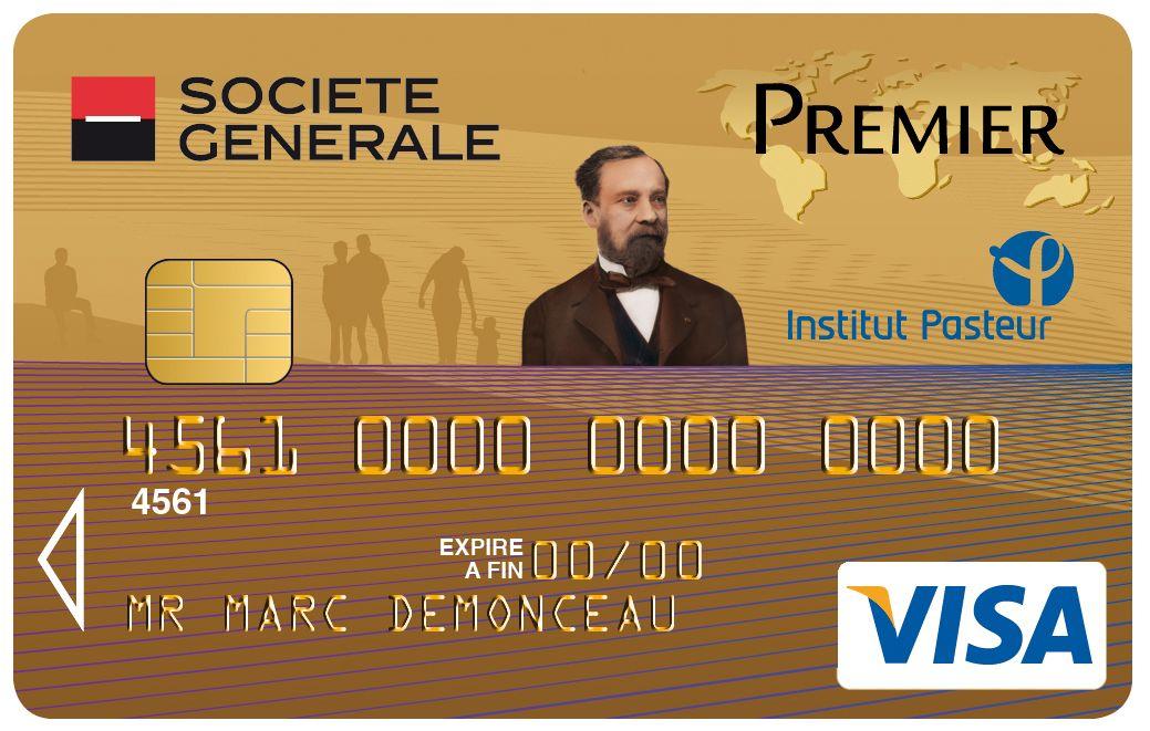 Carte Visa Premier Societe Generale Institut Pasteur