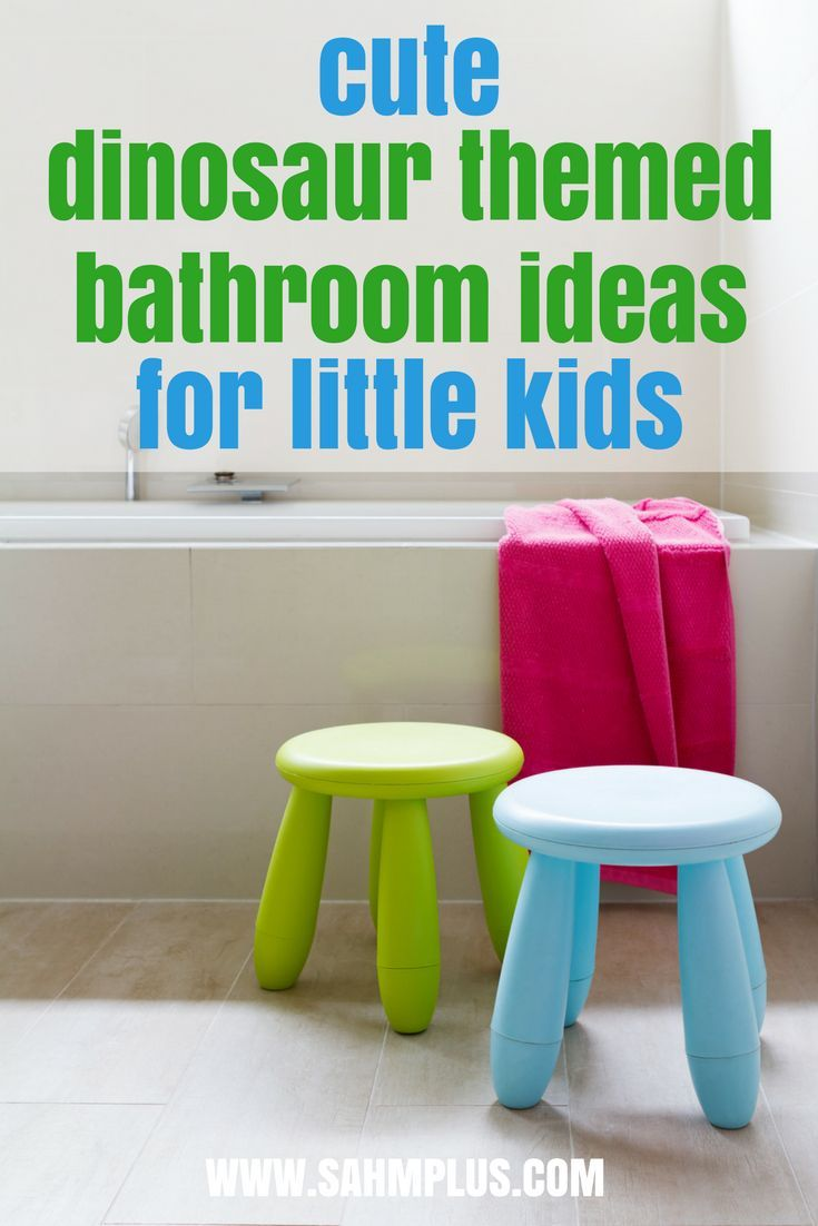 Beau Dinosaur Themed Bathroom For Little Kids   Great Dino Bathroom Supplies |  Practical Parenting