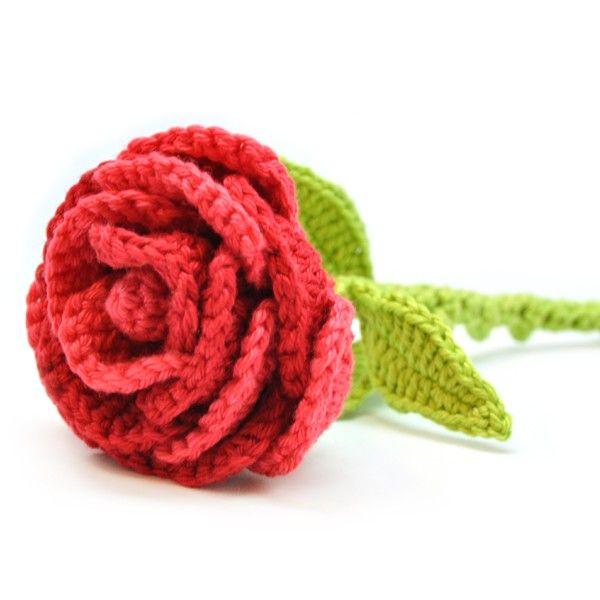 Häkelanleitung Rose | Crochet (Natur) | Pinterest | Häkelanleitung ...