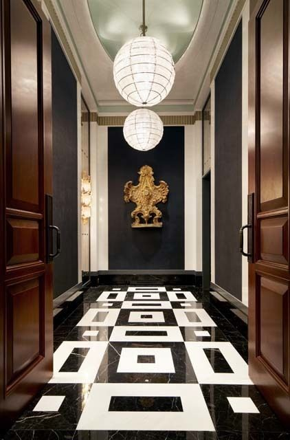 Inside A Hong Kong Townhouse Designed With Lavish Detail. Floor PatternsFloor  DecorTownhouse ...