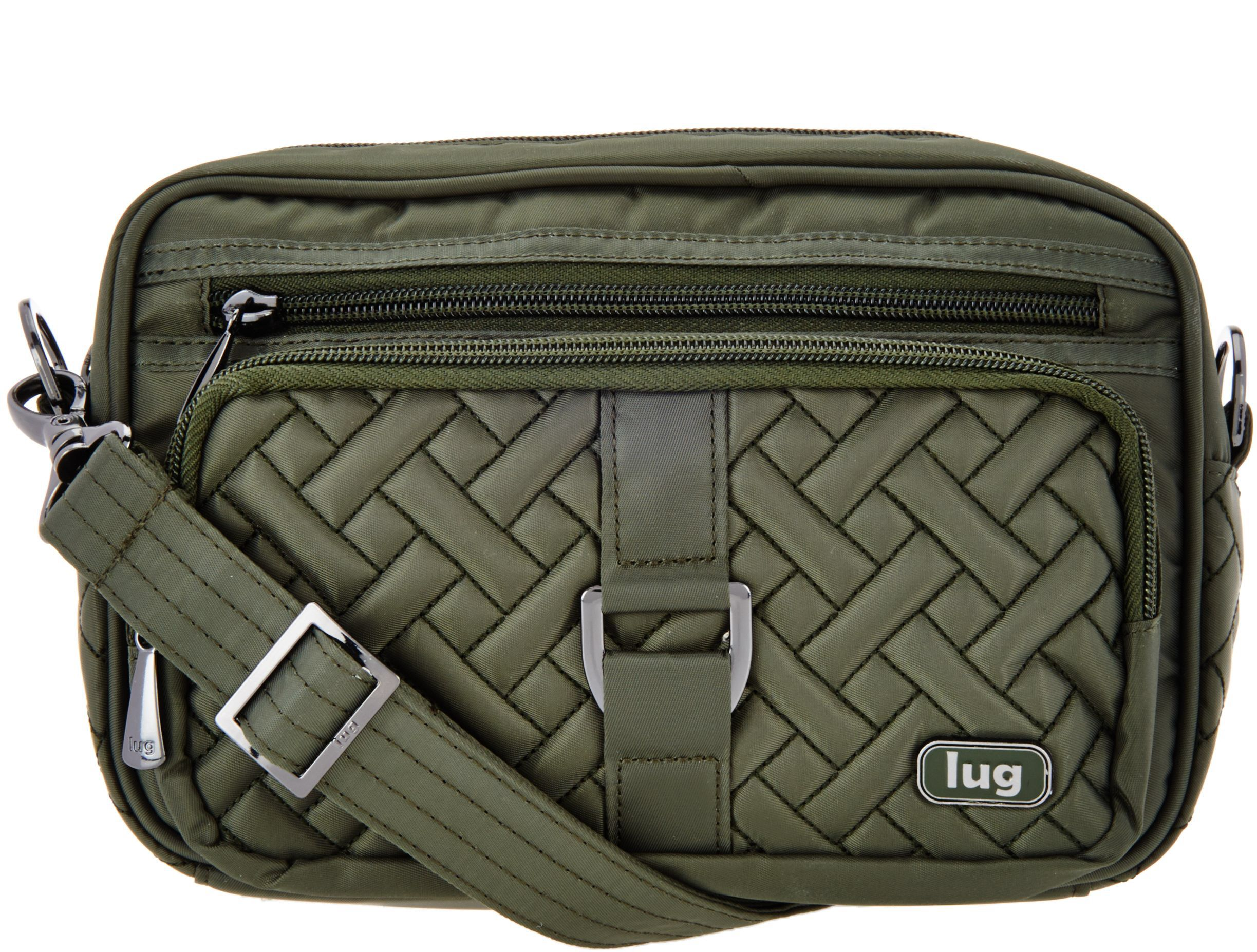 9da8b7062a74 Lug Convertible RFID Crossbody   Belt Bag - Carousel