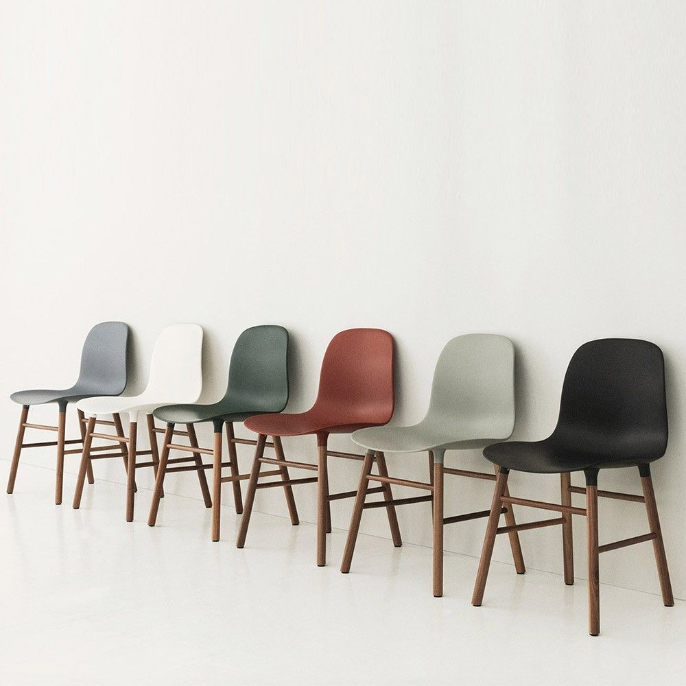 Normann Copenhagen Form Chair - Walnut | Houseology