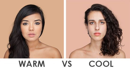 How To Determine Your Skin Tone: Warm vs Cool | Warm skin tone, Foundation  color match, Cool hair color