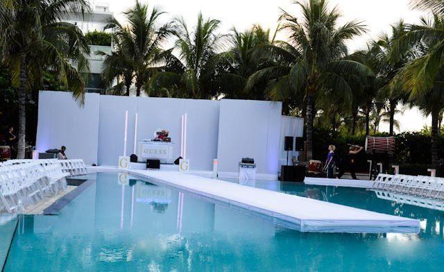 Pool Runway By Guess Pool Fashion Pool