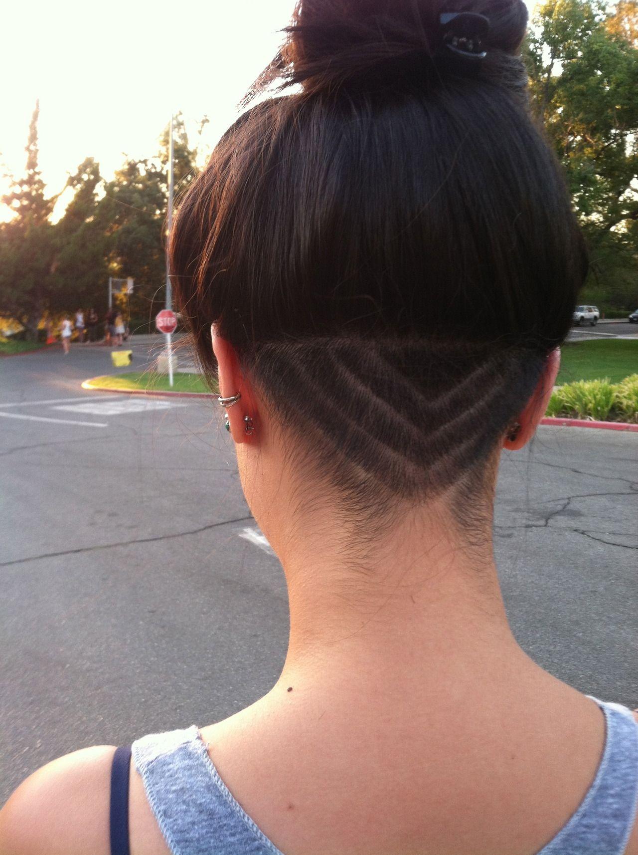 Arrow Undercut Undercut Hairstyles Undercut Long Hair Hair Styles