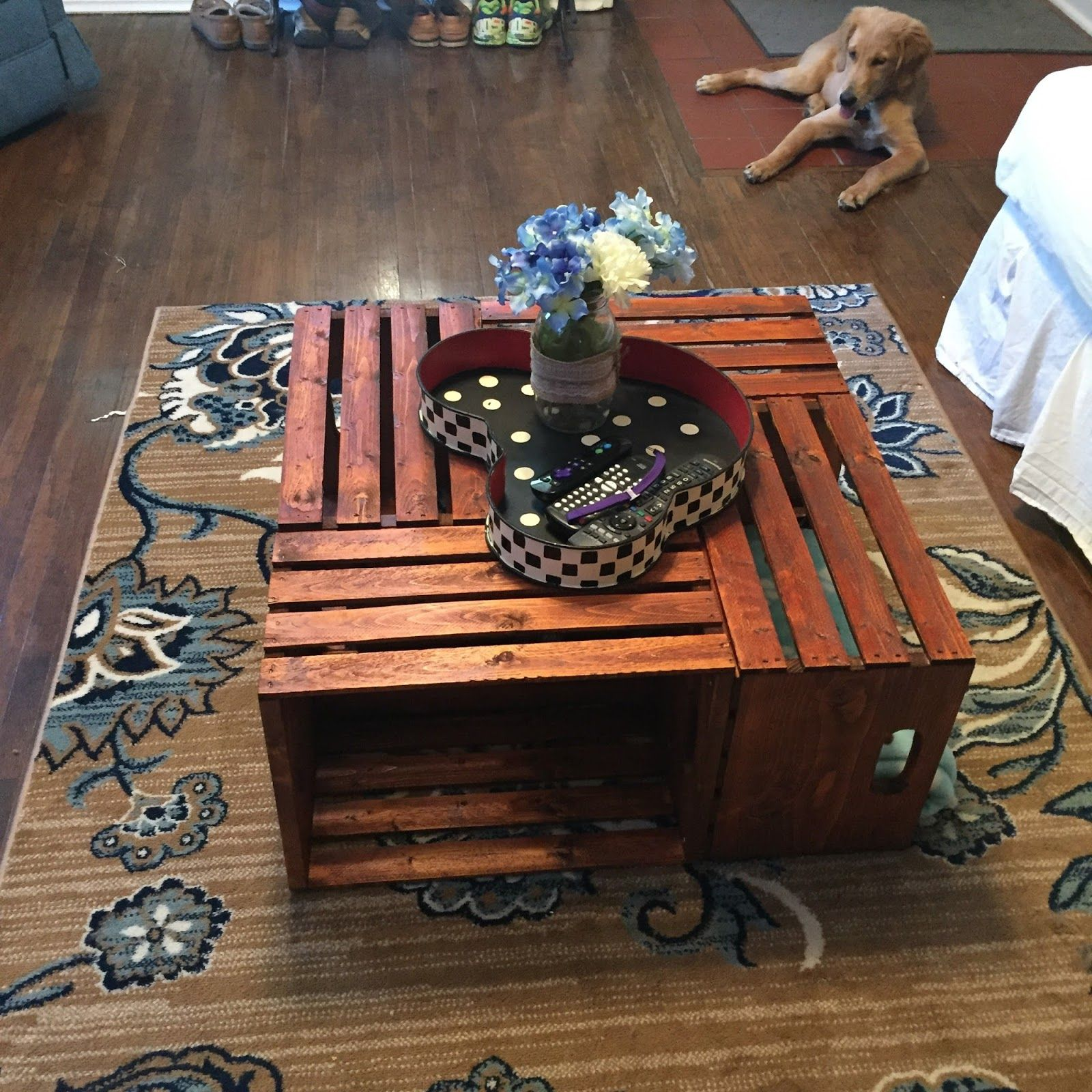 45+ Wooden crate coffee table diy ideas in 2021