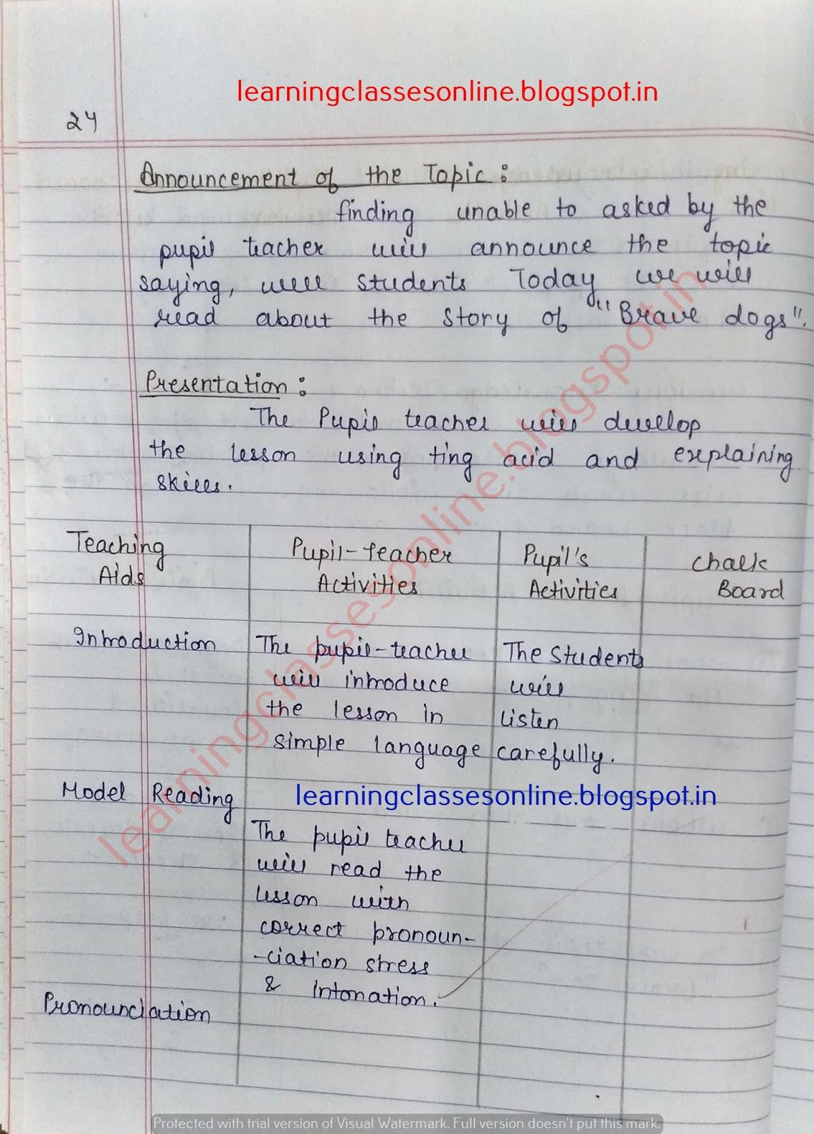 Lesson Plan For English Grammar, How To Make Lesson Plan