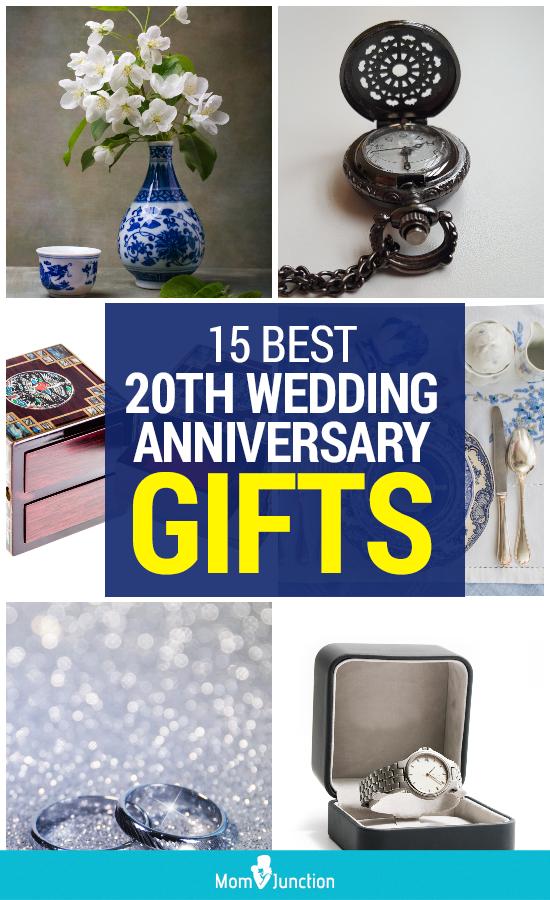 15 Best 20th Wedding Anniversary Gifts 20th wedding