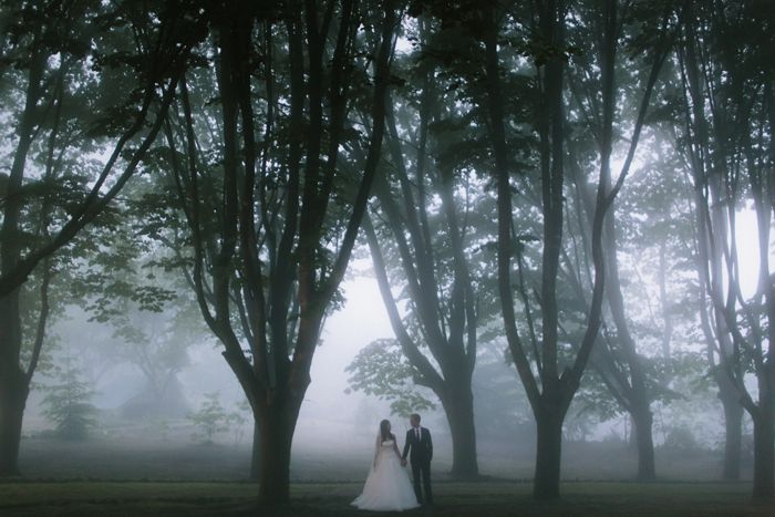 Real Wedding via Brancoprata  - Photo by André Teixeira