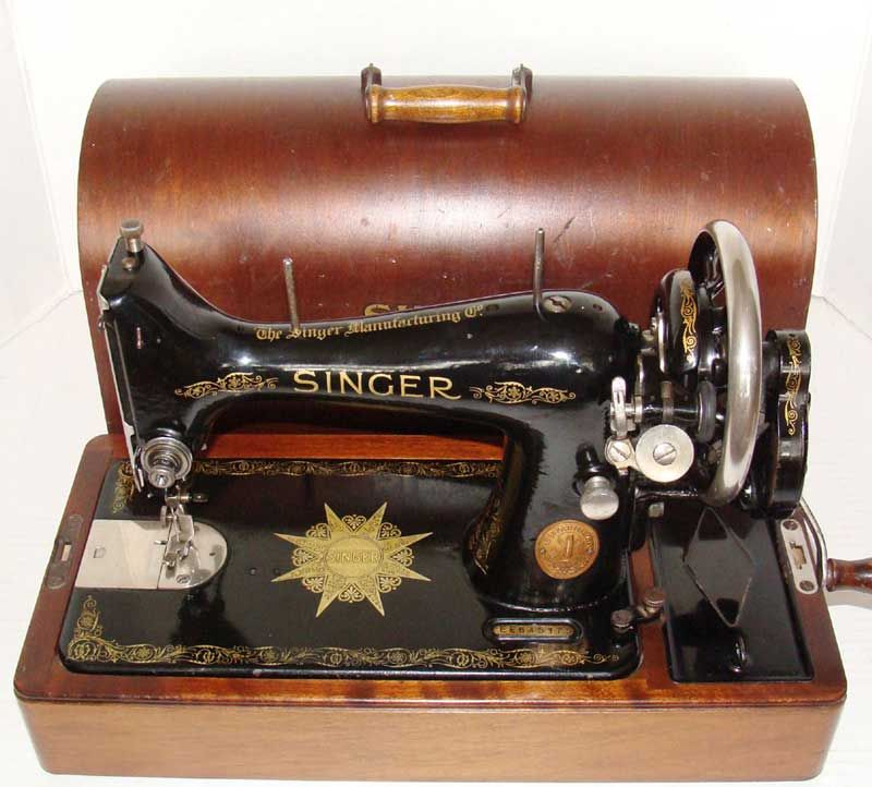 That's how much time was saved with the invention of the sewing machine – folks could sew in one hour what used to take them over fourteen hours to do by hand.