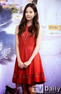 K-world Style: Seohyun's Passionate Red Dress