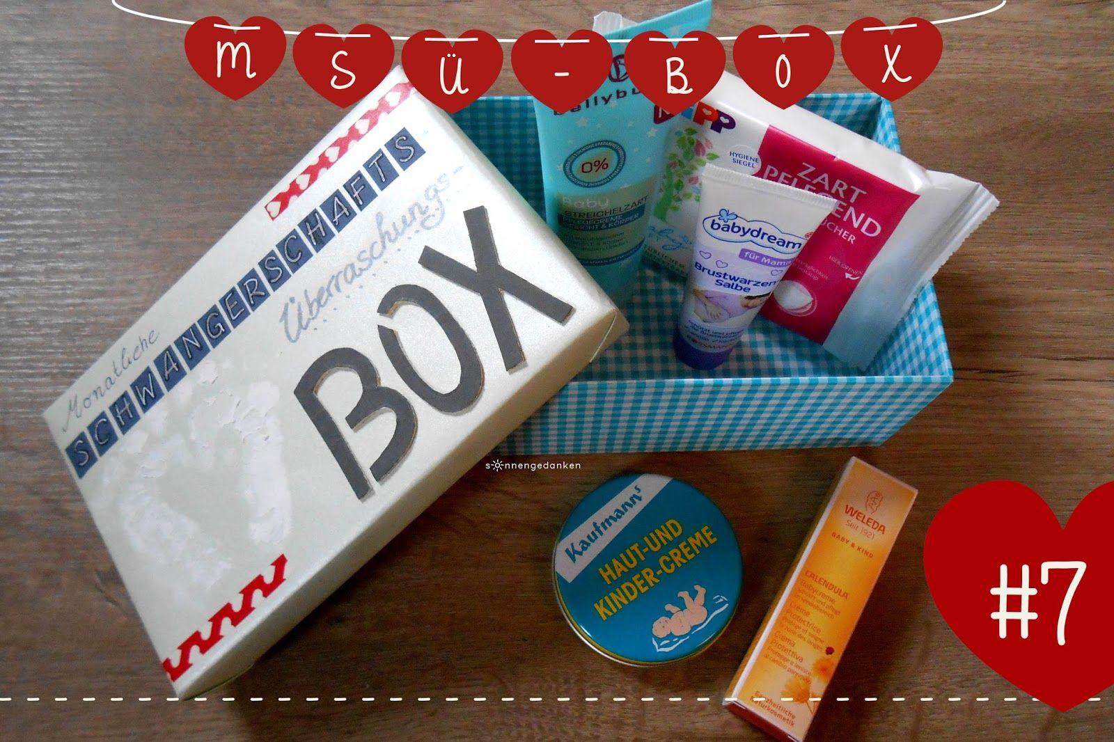 sonnengedanken: MSÜ-BOX #7 - Pflegeprodukte