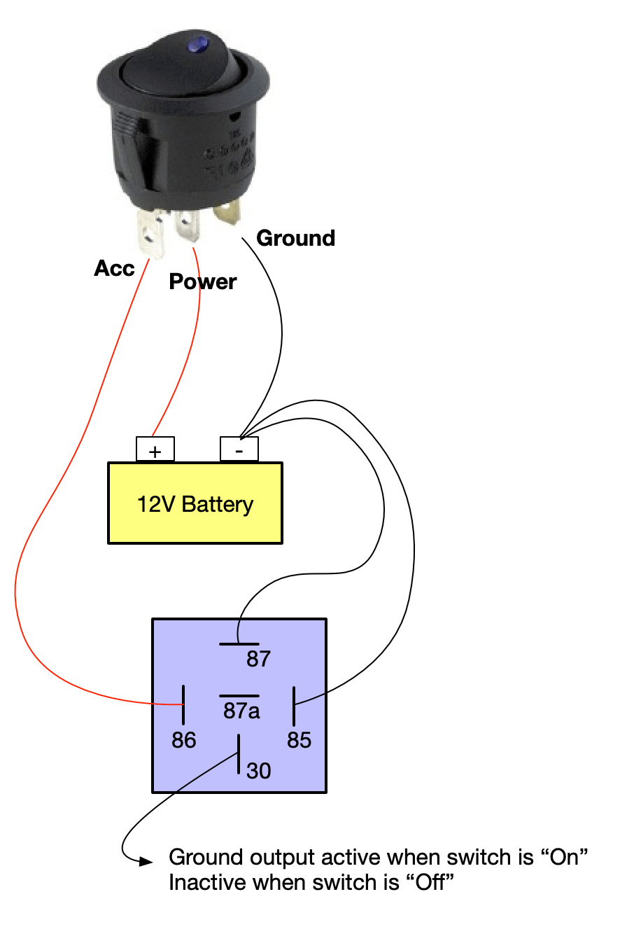On Off Switch Led Rocker Switch Wiring Diagrams Oznium Electrical Diagram Electrical Wiring Diagram Vehicle Care
