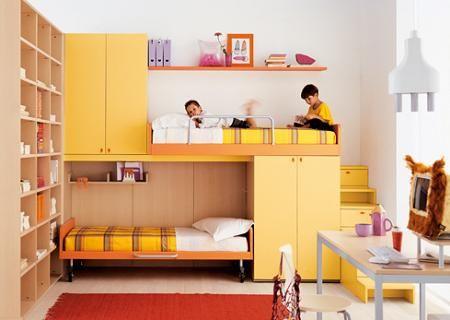 Resultado de imagen para literas infantiles para espacios for Literas para cuartos pequenos