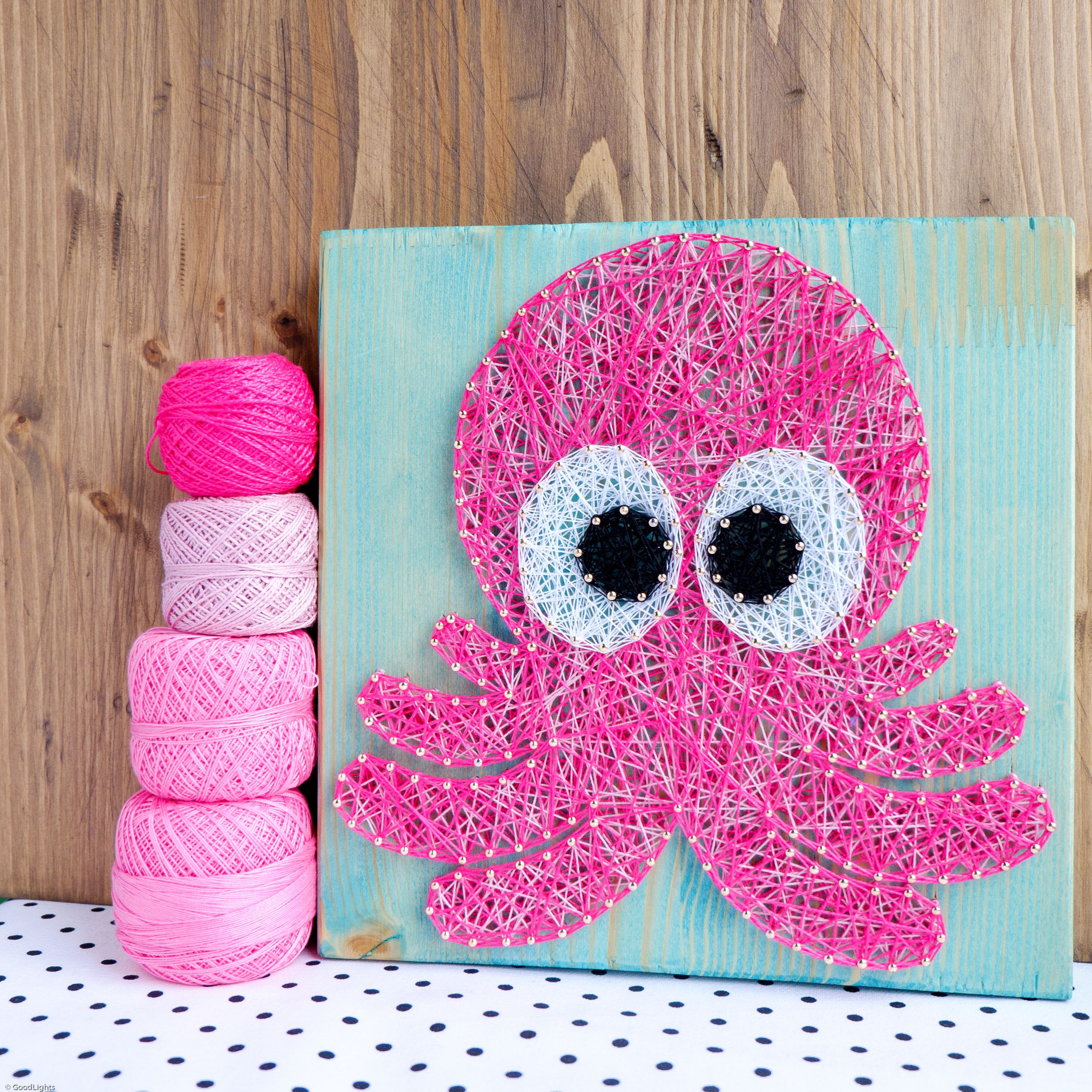 Octopus Wall Art Decoration, String Art D Cor Perfect For