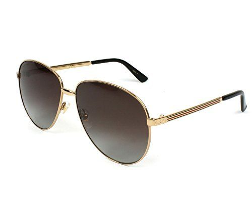 5f898fc3625 Gucci GG0138S 005 Gold Brown GG0138S Pilot Sunglasses Polarised Lens  Category. Find this Pin and more on Men ...