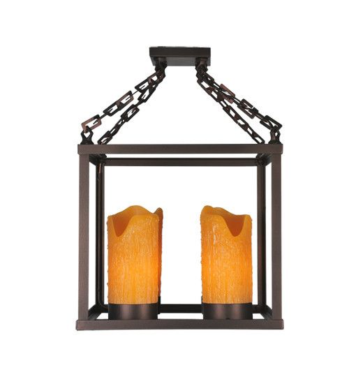 Box 4 Light Candle Chandelier