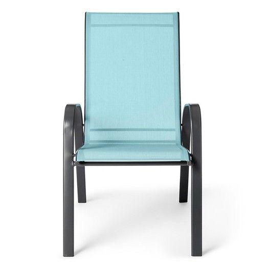 patio sling stacking chair room essentials target garden rh pinterest co uk Room Essentials Beach Chair Room Essentials Beach Chair