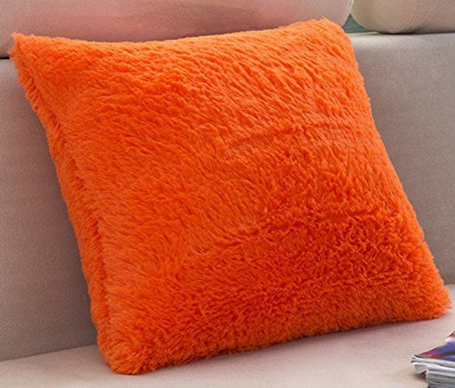 Vivid Color Plush Throw Pillow Cover Sham Case LivebyCare Cushion Covers Pattern Zipper Pillowslip Pillowcase For Study Room Sofa Couch Chair Back Seat