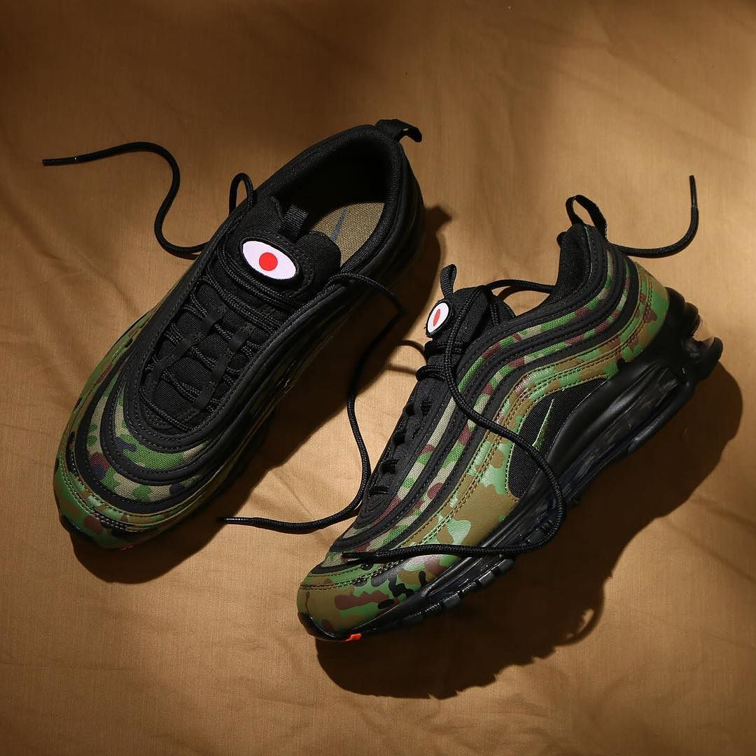 "hot sales 6ed94 a3ba4 Nike Air Max 97 ""Country Camo"" — designed exclusively for Japan"