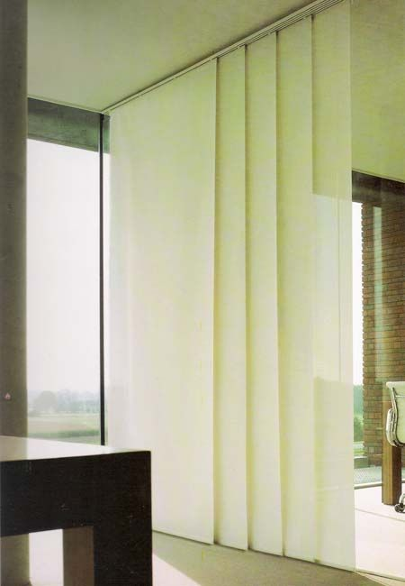 Separador de ambientes con paneles japoneses casa - Separador de ambientes ...