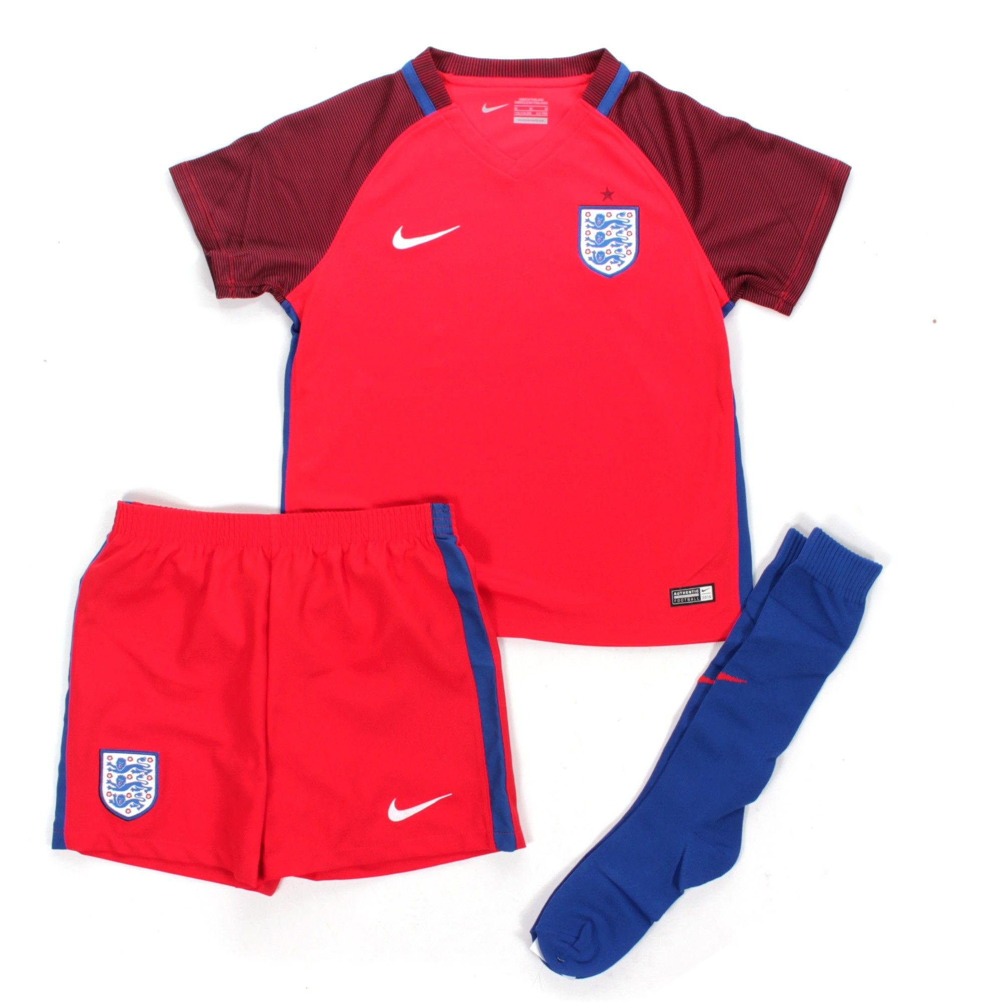 88d9a206a1e Support England with style with the official England 2016 17 Away Little  Kids Stadium Kit