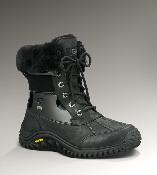 8cdfbe777a1 UGG Adirondack Boot II Women's Black Snow Boots #snowboots | What To ...