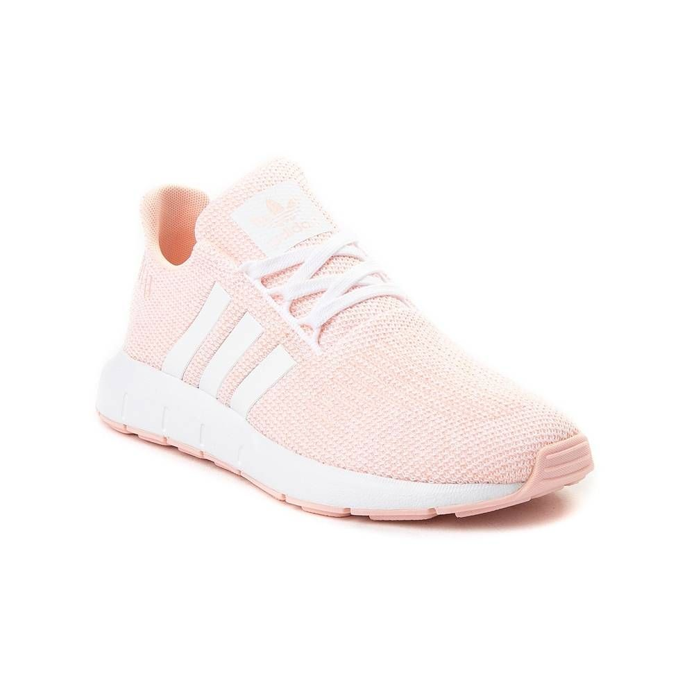 Tween Adidas Swift Run Athletic Shoe Coral 1436442 Athletic